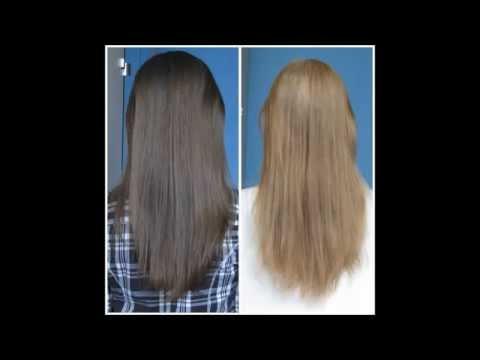 Rozjaśnianie i farbowanie moich włosów