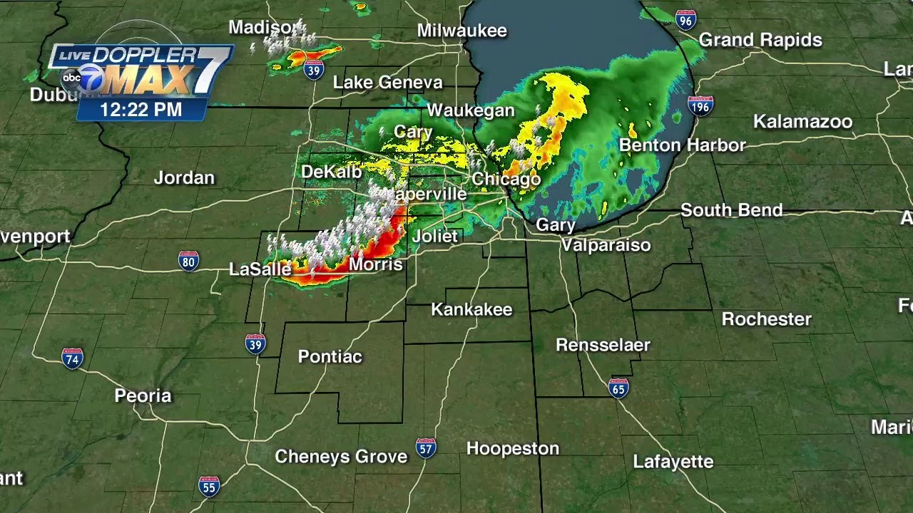Chicago Weather: Tornado Warnings Issued As Dangerous Storms ...