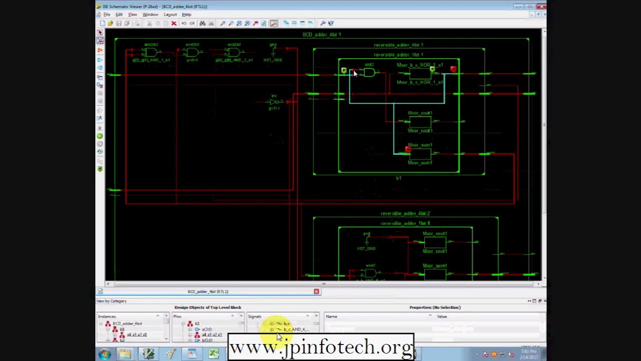 Design Of Optimized Reversible Binary And Bcd Adders Youtube Logic Diagram Adder