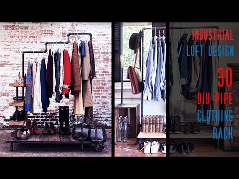 30 DIY Pipe Clothing Rack