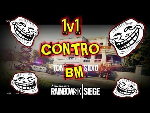 1v1 CONTRO BM SU Rainbow Six Siege!!!!