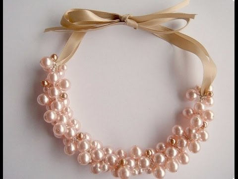 Ожерелья своими руками из бус