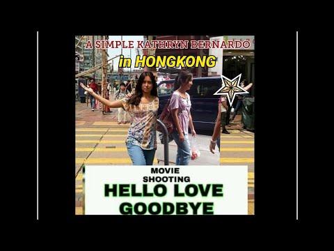 HELLO,LOVE, GOODBYE! SHOOTING in Hongkong!