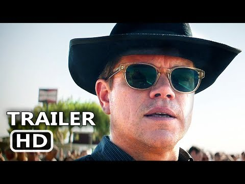 FORD v FERRARI Official Trailer (2019) Matt Damon, Christian Bale Movie HD