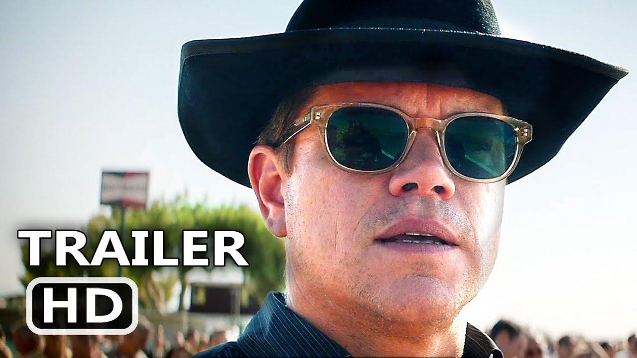 Ford V Ferrari Official Trailer 2019 Matt Damon Christian Bale Movie Hd Youtube