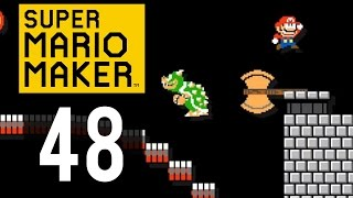 Super Mario Maker Gameplay - Part 48 - Shoot!
