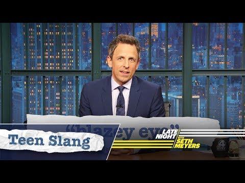 Download Youtube: Seth Explains Teen Slang: Blazey Eye, Pre-Laming
