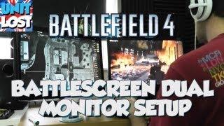 Battlefield 4 : Battlescreen Dual Monitor Setup