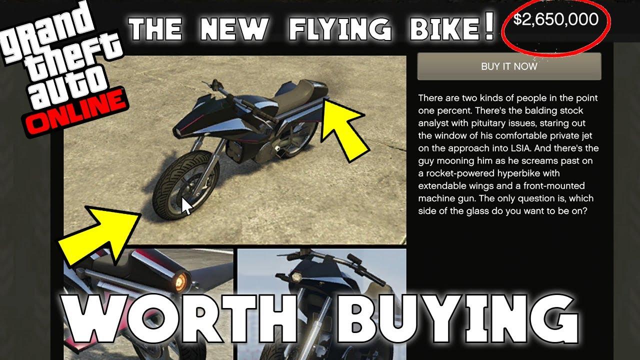 The New Flying Bike   Pegassi Oppressor
