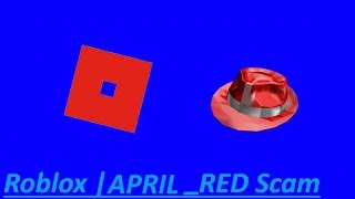 Roblox | APRIL_RED Scam