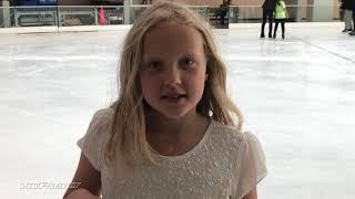 Natalie and Ice Skating