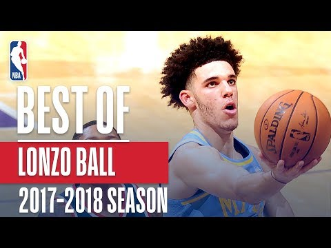 Lonzo Ball's Rookie Season Highlight Reel