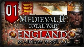 Stainless Steel 6.4 - Medieval II Total War: England Campaign #1 - Here We Go Again!