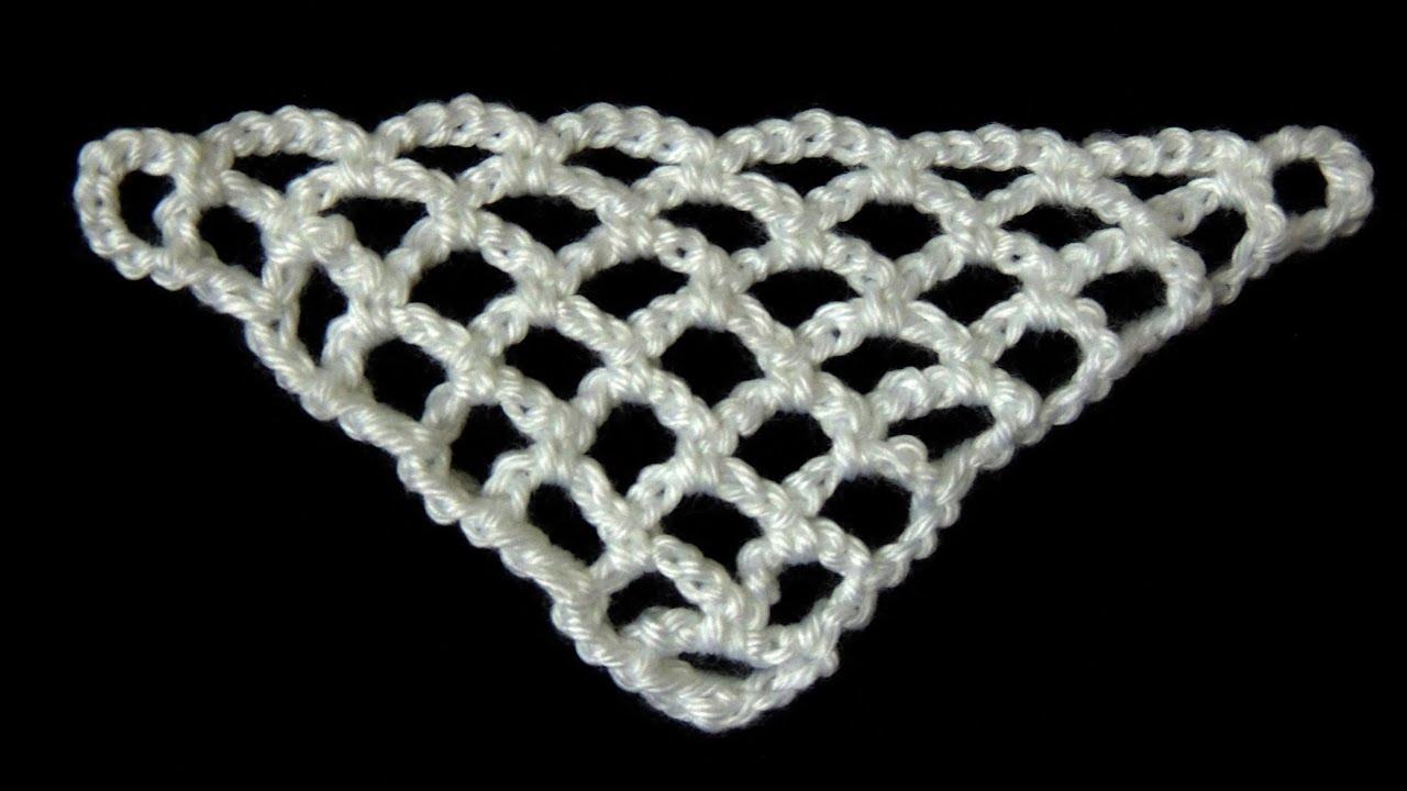 Crochet : Punto Red en \
