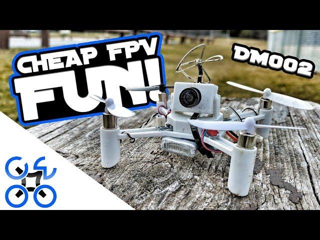 CHEAP FPV FUN! DM002 DIY Drone Review