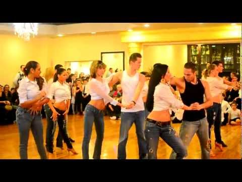 2013 Brooklyn DanceSport Club Anniversary. Adult Latin Class Performance.