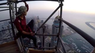 Highest Residential Tower Climb (2015) - #WinTownSquareDXB