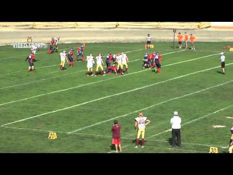 PLFA2: Devils Wrocław B-Broncos Sucha Beskidzka (25.08.2013) Skrót