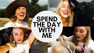 Spend Friday With Me! | Baking, Cleaning, and a Surprise!