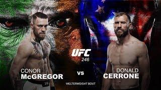 UFC 246 Conor McGregor vs Donald Cerrone Betting Preview | CBS Sports HQ