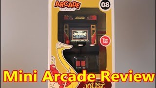 Joust Mini Arcade Game Review Basic Fun Arcade Classics #08 - The No Swear Gamer