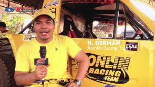 vuclip Interview H.Dirman at GT.Radial Savero Komodo Indonesia Xtreme Offroad Racing 2014 round 4 at Tuban