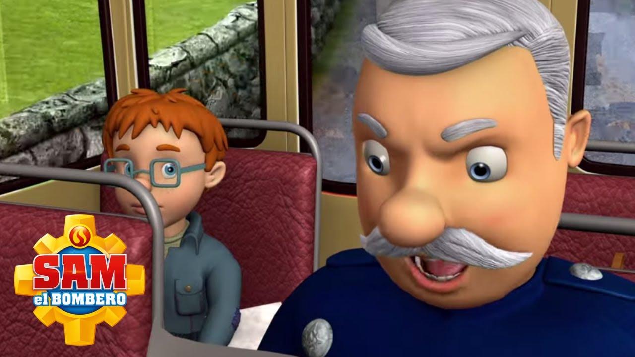 El Bombero Sam   ¡Viaje en autobús de Norman y Steele!   1 hora   Dibujos animados