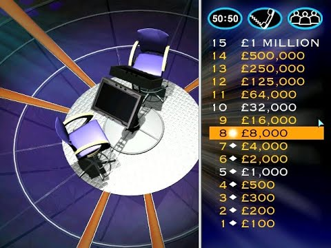 Who Wants To Be A Millionaire? UK:  PC CD-ROM