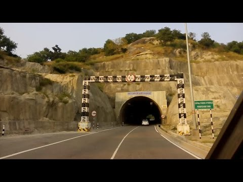 Jammu to Katra Crossing The 4 Tunnel , Srinagar Highway Indi