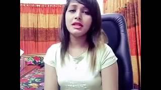 Bangladeshi Girl Live Video Song In Facebook
