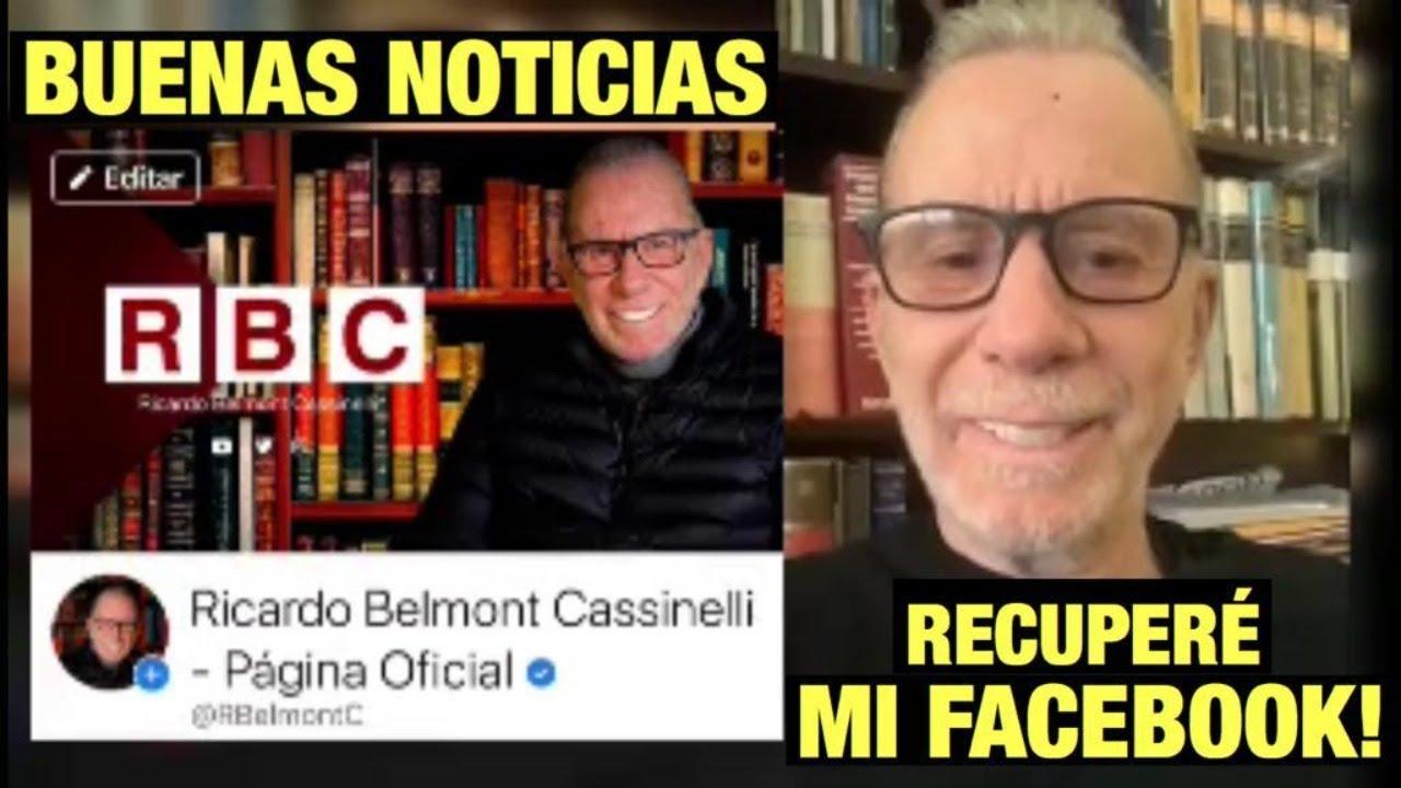 BUENAS NOTICIAS, RECUPERÉ MI PÁGINA DE FACEBOOK!!!