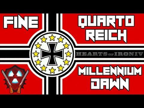 Quarto Reich - Hearts Of Iron 4 Millennium Dawn ITA FINE