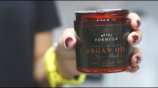 How to Apply - Argan Oil Hair Mask | Results Before and After Review