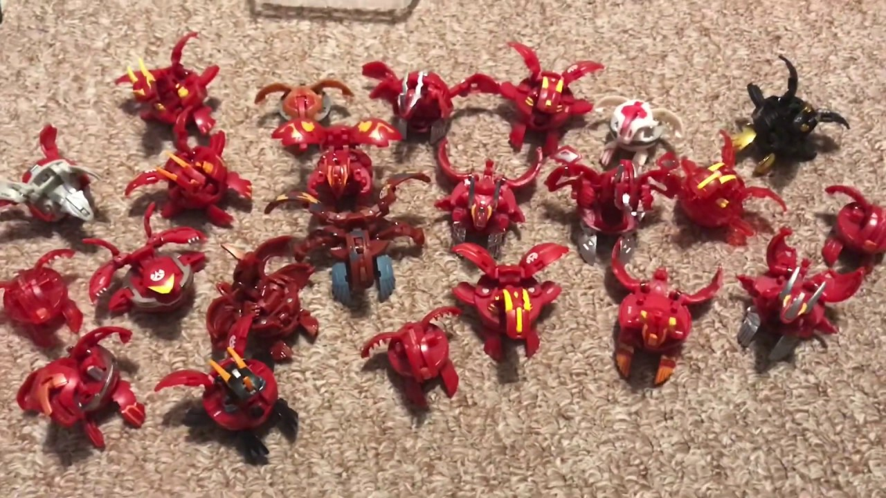Huge Bakugan Dragonoid Show Accurate Collection Youtube
