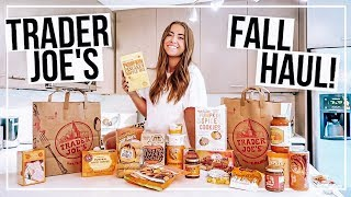 TRADER JOE'S FALL HAUL! | Everything Pumpkin 2019 + Taste Test