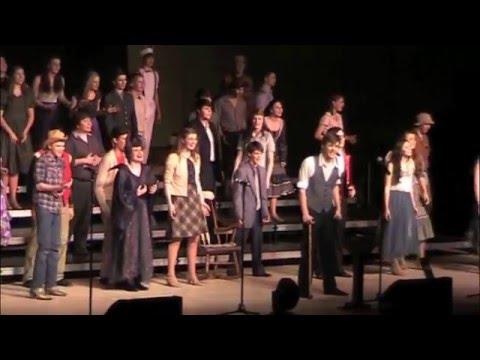Sauk Prairie Show Choir 2016 Executive Session at Holmen