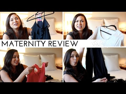 Maternity Clothes Review | PEA IN A POD & OLD NAVY