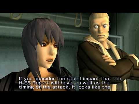 Ghost In The Shell Stand Alone Complex Psp Youtube