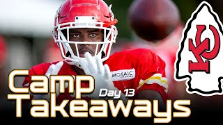 Chiefs Training Camp (Day 13) - Juan Thornhill Damien Williams  |  Kansas City Chiefs News 2019 NFL