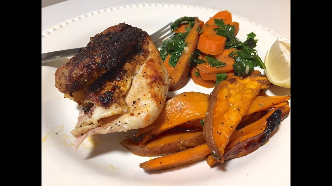 Blue apron greek chicken - Bbq Roasted Chicken Blue Apron Cooking Review