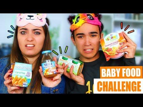 BABY FOOD CHALLENGE ?!! Jonathan Et Amandine