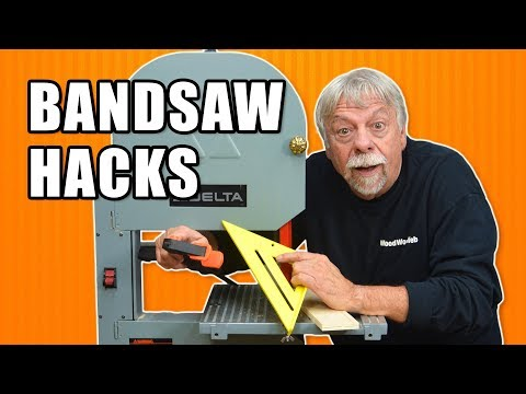Bandsaw Hacks – 5 Band Noticed Suggestions and Methods