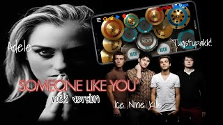 Someone Like You-Ice Nine Kills | Adele Rock Version (Real Drum Cover)