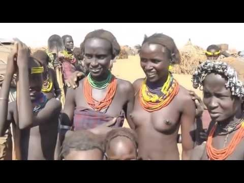 Dassanech peoples life in small village - African Tribes Documentary Films