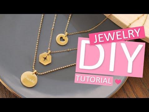 DIY Tutorial - Mix & Match Ketten aus Stainless Steel – Selbst Schmuck machen
