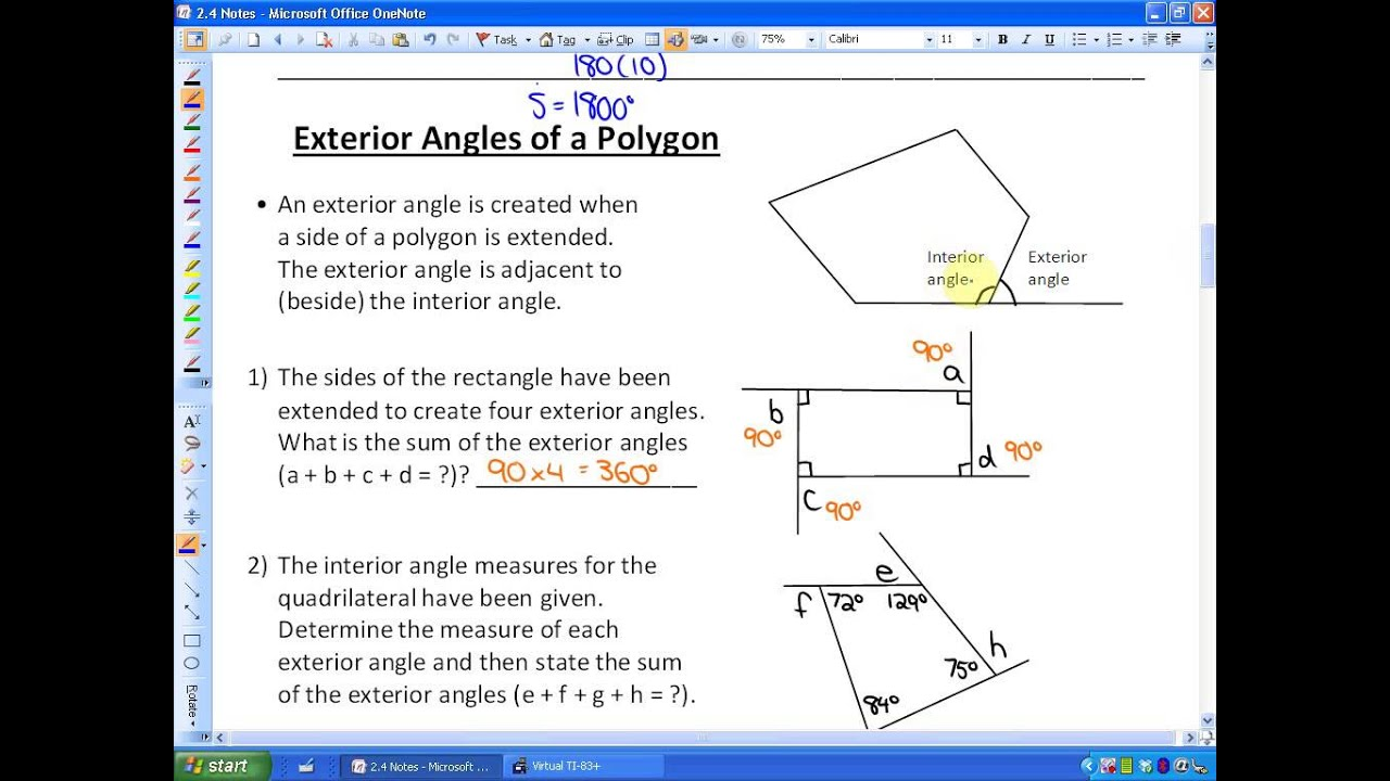 Image Gallery Identify Properties Of Polygons