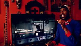 NF - Paid My Dues | Reaction 🇺🇸