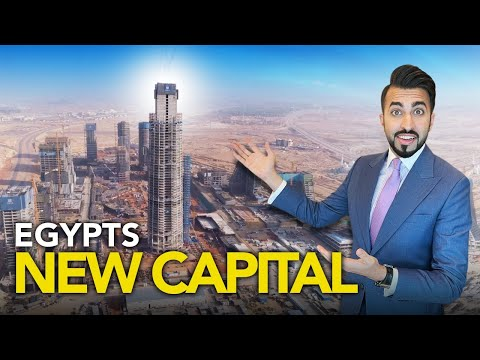 EXCLUSIVE TOUR OF THE NEW ADMINISTRATIVE CAPITAL IN EGYPT | DUBAI TO CAIRO PROPERTY VLOG #45
