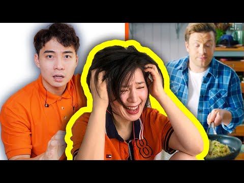 Japanese lady reacts to Uncle Roger hate jamie oliver egg fried rice