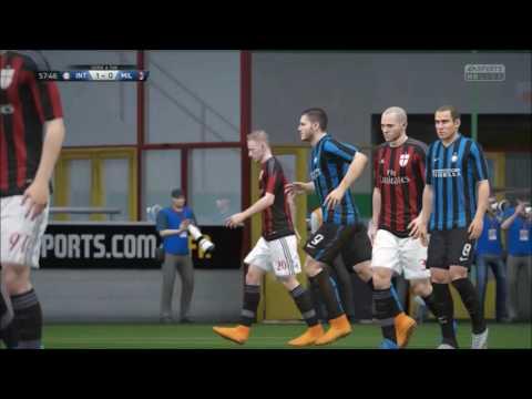 FIFA 16 Daily Challenge - 02 - Inter vs. AC Milan
